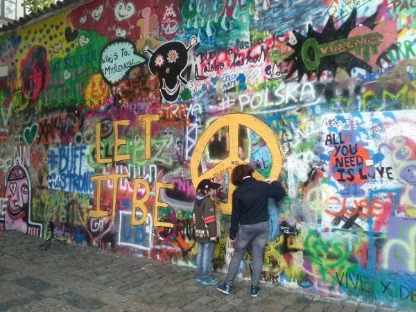 Графити в Чехии, Прага.