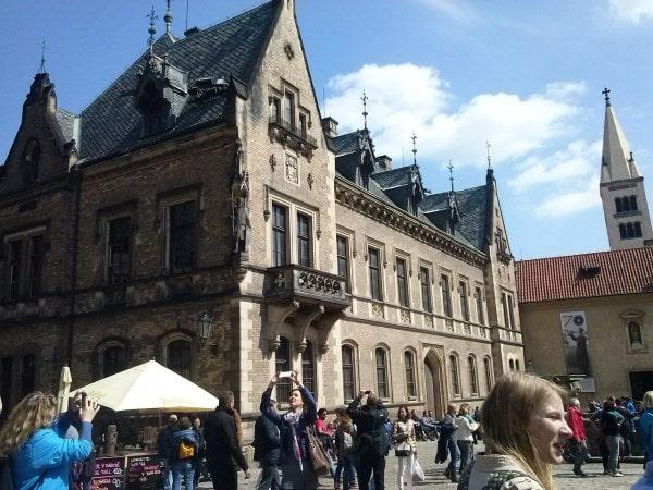 Солнечный день в Праге