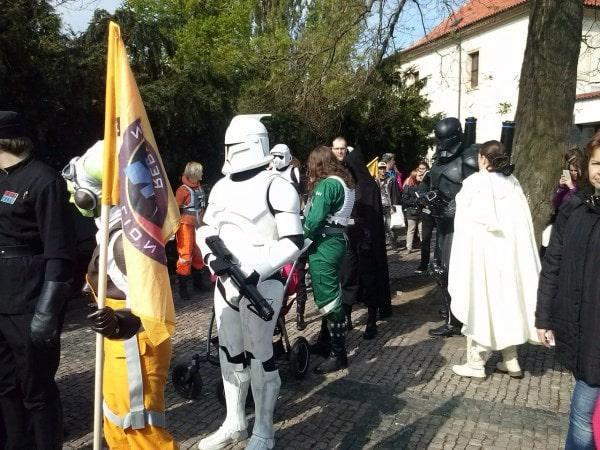 Звездные воины в Праге