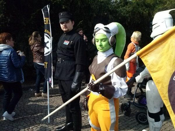 Звездные войны в Праге