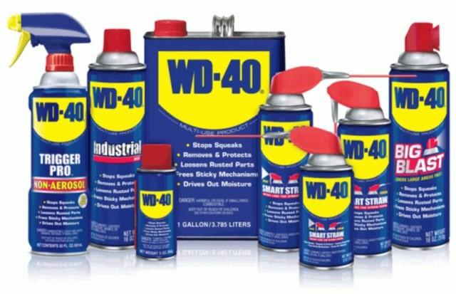 Как можно использовать WD-40
