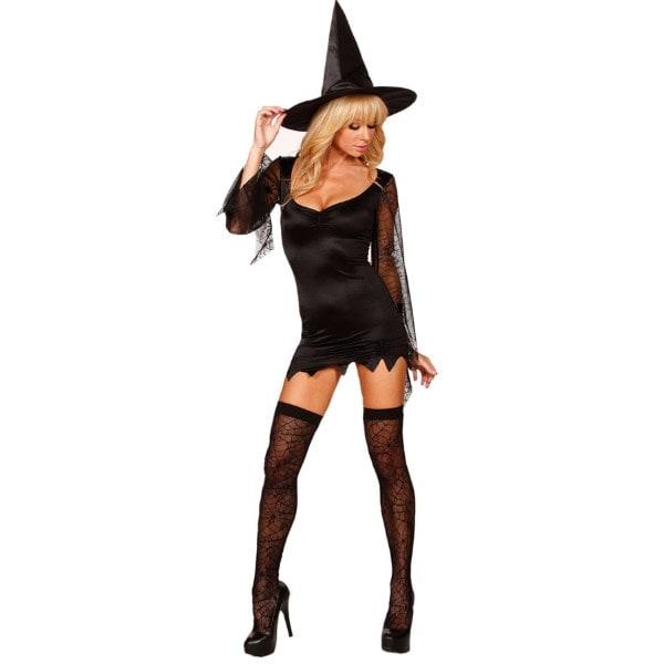 Сексуальная ведьма - прекрасный костюм для хэллоуин