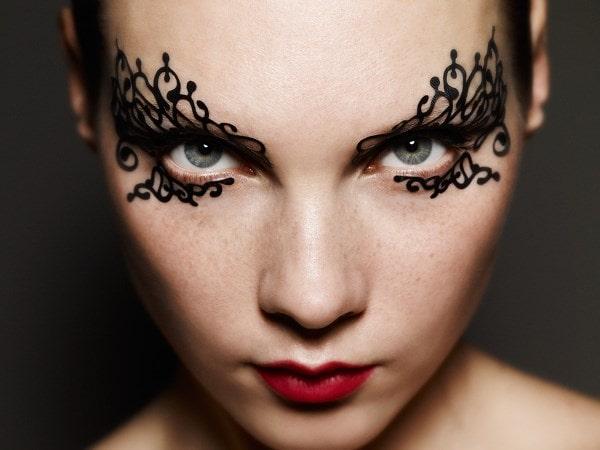 Очень красивый макияж для хэлоина