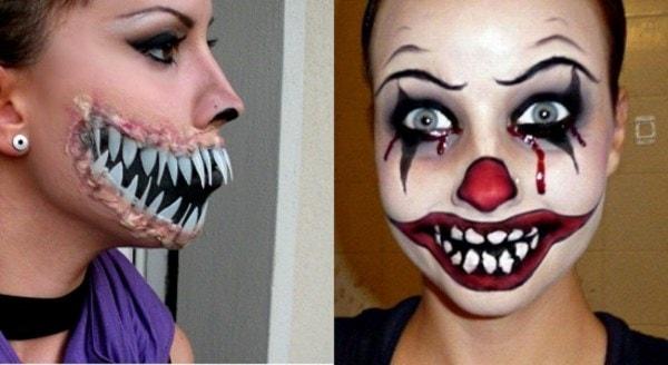 Делаем классный макияж для Halloween