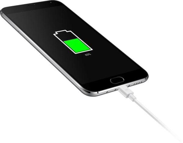 Meizu MX5 можно зарядить за 30 минут