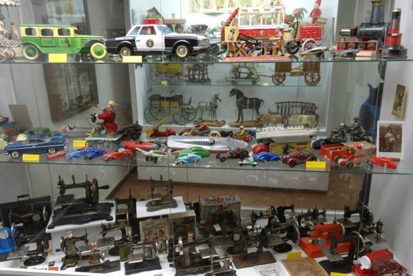 Музей игрушек в городе Прага