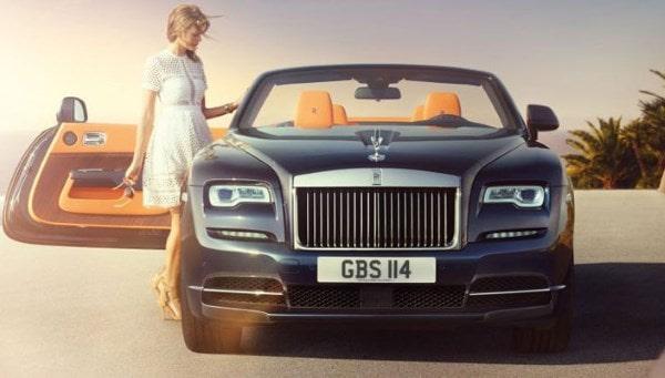 Кабриолет Rolls-Royce Dawn