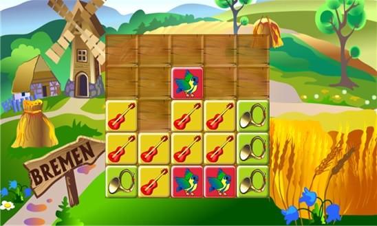 Мини игры о бременских музыкантах для детей.