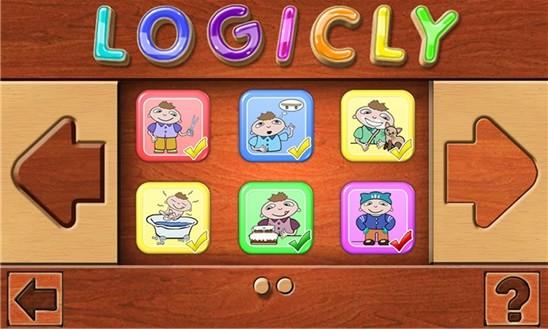 Логические пазлы для детей
