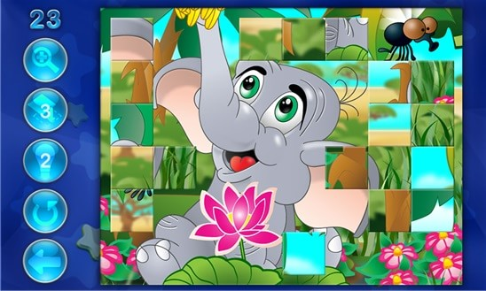 Пазл про Слоненка для мальчиков