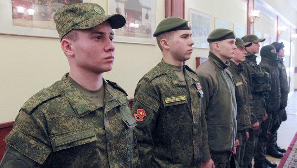 Обмундирование российской армии