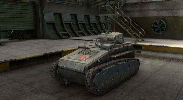 Leichttraktor - танк, Германия. World of Tanks