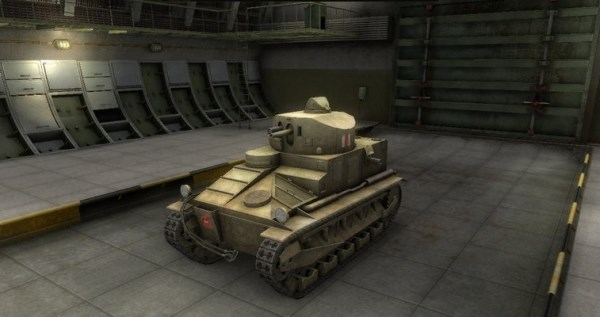 Medium Mark I, Великобретания, World of Tanks