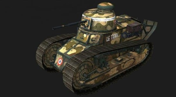 Renault FT, Франция, World of  Tanks
