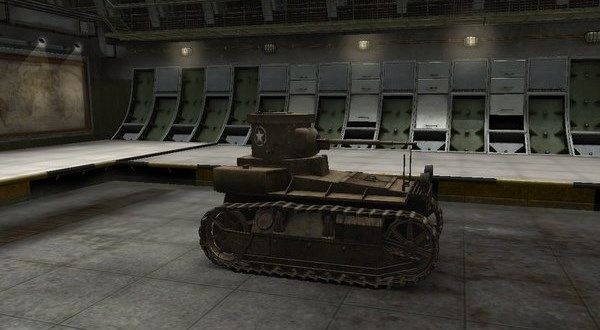 T1 Cunningham США, Танк, World of Tanks