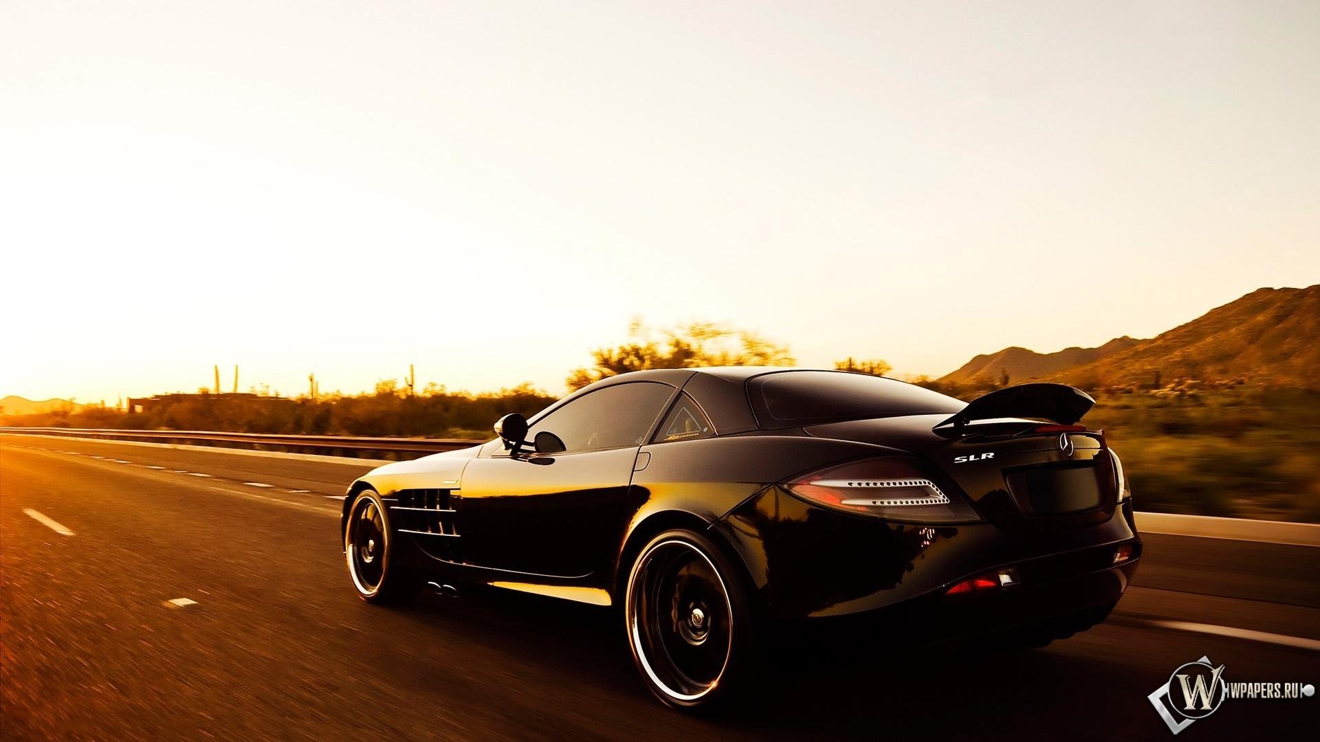 Mercedes SLR.
