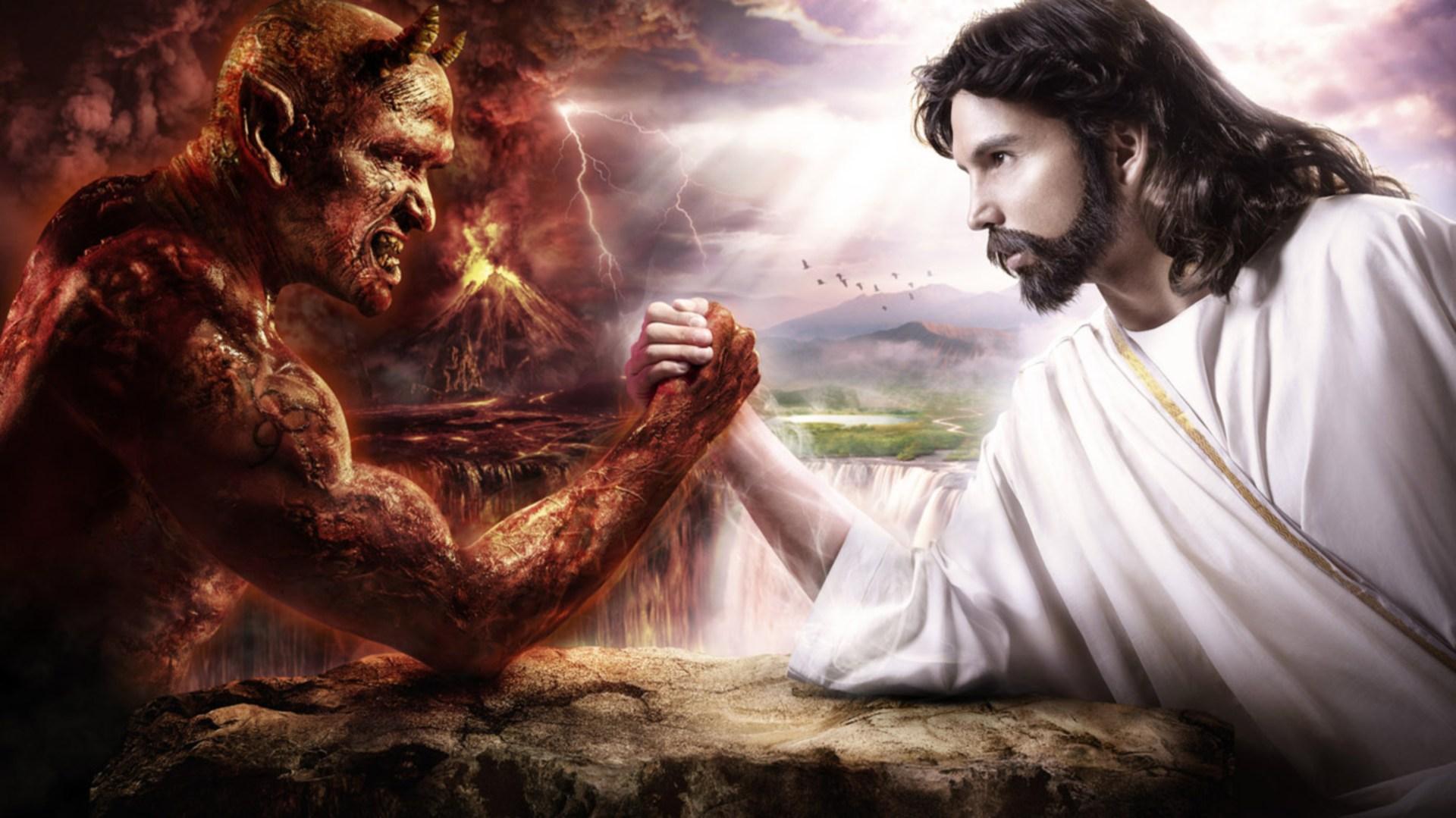 Иисус против дьявола