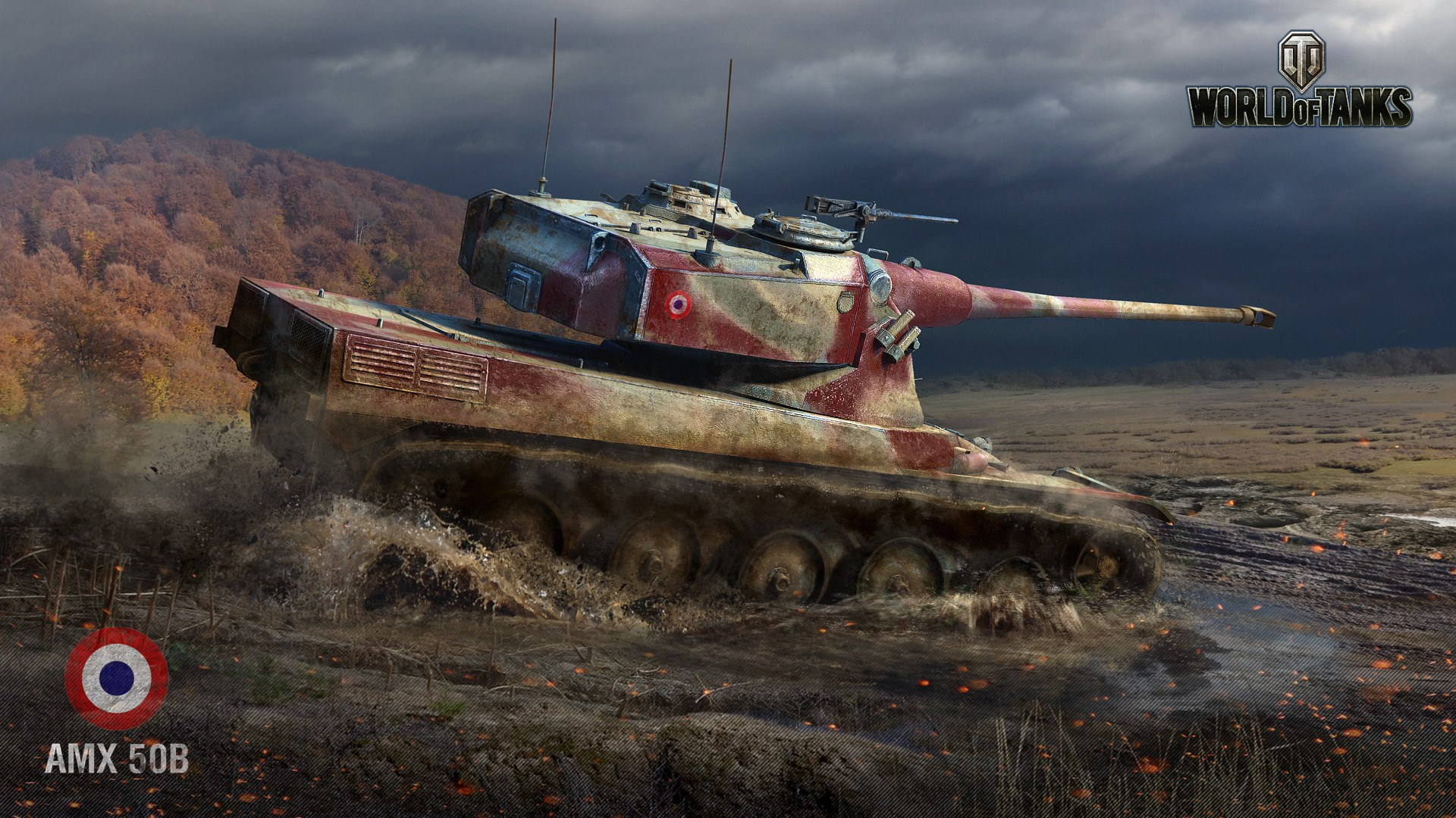 World of Tanks - AMX-50B